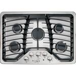 """PGP953SETSS GE Profile 30"""" Built-in Gas Cooktop - Stainless Steel"""