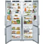 "SBS26S1 Liebherr 48"" Cabinet Depth Refrigerator Freezer Combination - Stainless Steel"