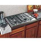 "JGP329SETSS GE 30"" Built In Gas Cooktop - Stainless Steel"