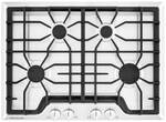 """FGGC3045QW Frigidaire 30"""" Gas Cooktop with Angled Front Controls - White"""