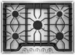 """FGGC3047QS Frigidaire 30"""" Gas Cooktop with Power Burner - Stainless Steel"""