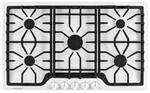 """FGGC3645QW Frigidaire Gallery 36"""" Gas Cooktop with Power Burner - White"""