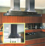 """CILH9-242 Vent-A-Hood 42"""" Contemporary Multi-Layered Island Hood (600 CFM) - Stainless Steel"""