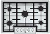 "NGM8055UC Bosch 31"" Gas Cooktop 800 Series - Stainless Steel"