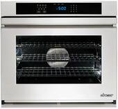 "RNO130FS Dacor Renaissance 30"" Single Wall Oven with Flush Handle - Stainless Steel"