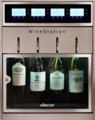 "DYWS4 Dacor 20"" Freestanding 4 Bottle Wine Dispenser - Stainless Steel"