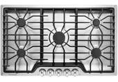 """FFGC3626SS Frigidaire 36"""" Gas Cooktop with 5 Sealed Burners and Ready-Select Controls - Stainless Steel"""