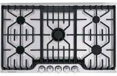 """FPGC3677RS Frigidaire Professional 36"""" Gas Cooktop with Griddle - Stainless Steel"""