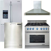 Package Dacor 22 - Dacor Luxury Kitchen Package with Gas Range - Stainless Steel