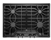 "FFGC3026SB Frigidaire 30"" Gas Cooktop with 4 Sealed Burners and Ready-Select Controls - Black"