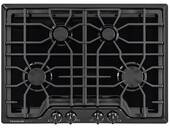 "FGGC3045QB Frigidaire 30"" Gas Cooktop with Angled Front Controls - Black"