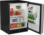 "ML24RAS2RS Marvel 24"" Under Counter All Refrigerator with Maxstore Utility Bin - Right Hinge - Stainless Steel"