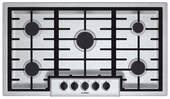 "NGM5655UC Bosch 36"" Gas Cooktop 500 Series - Stainless Steel"