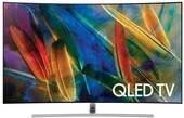 "QN65Q7C Samsung 65"" Q Series Curved UHD 4K HDR QLED Smart HDTV with - 240 Motion Rate and 3840 x 2160 Resolution"