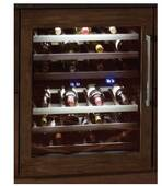 "T24UW800LP Thermador 24"" Thermador Left Swing Undercounter Wine Reserve with LED Lighting - Custom Panel"