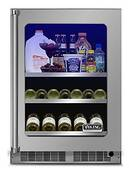 """VBUI5240GLSS Viking 24"""" Viking Professional 5 series Undercounter Full Size Beverage Center with Electronic Controls and Dynamic Cooling Technologies - Left Hinge - Stainless Steel"""