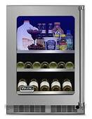 "VBUI5240GRSS Viking 24"" Viking Professional 5 series Undercounter Full Size Beverage Center with Electronic Controls and Dynamic Cooling Technologies - Right Hinge - Stainless Steel"