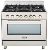 "VEFSGG365NSS Verona 36"" All Gas Single Oven Range - Stainless Steel"