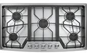 "ZGU385NSMSS GE Monogram 36"" Gas Cooktop - Natural Gas - Stainless Steel"