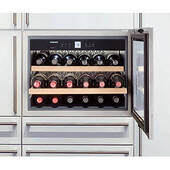 "HWS-1800 Liebherr 24"" Built-In Fully Integrated Wine Cabinet - Stainless Steel"