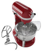 KP26M1XER KitchenAid Professional 600 Mixer with 575 Watt Motor - Empire Red