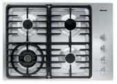 "KM3465LP Miele 3000 Series 30"" Liquid Propane Cooktop with Linear Grates - Stainless Steel"
