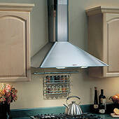"RM503604 Broan Elite 36"" Wall Mount Chimney Hood with 270 CFM Internal Blower - Stainless Steel"