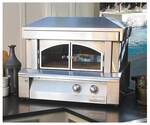 "AXEPZANG Alfresco 30"" Countertop Pizza Oven - Natural Gas - Stainless Steel"