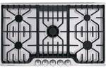 "FPGC3677RS Frigidaire Professional 36"" Gas Cooktop with Griddle - Stainless Steel"