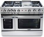 """GSCR486GL Capital 48"""" Precision Pro Style Gas Convection Range 6 Burners & Griddle - Liquid Propane - Stainless Steel"""