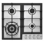 "HCC2230AGS Haier 24"" Gas Cooktop with 4 Sealed Burners and Triple Ring Burner - Stainless Steel"
