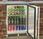 "MO24RAS1RS Marvel 24""�� Outdoor Refrigerator - Right Hinge - Stainless Steel"