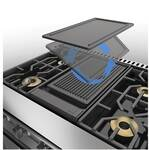 PQGDVGR2CI Viking Reversible Grill/Griddle for 7 Series Pro Range