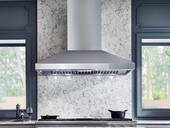 """AK7642AS Zephyr 42"""" Titan Pro Collection Wall Hood with 750 CFM PowerWave Blower and AirFlow Control Technology - Stainless Steel"""