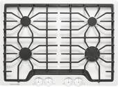 """FFGC3026SW Frigidaire 30"""" Gas Cooktop with 4 Sealed Burners and Ready-Select Controls - White"""