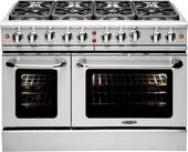 """MCR488N Capital Precision Series 48"""" Gas Range with 8 Power-Flo Burners - Natural Gas - Stainless Steel"""