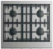 """CPV2304N DCS 30"""" Wide Professional Cooktop with 4 Burners - Natural Gas - Stainless Steel</"""