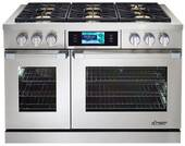 "DYRP48DSNG Dacor Discovery 48"" Dual Fuel Range - Natural Gas - Stainless Steel"