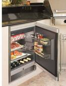 "RO510 Liebherr 24"" Premium ADA Compliant Outdoor Beverage Cooler with Security Lock - Stainless Steel"