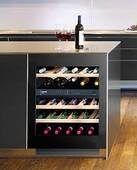 "WUGB3400 Liebherr 24"" Undercounter Two Zone Wine Cellar - Black"