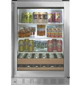 "ZDBR240HBS Monogram 24"" Beverage Center - Stainless Steel - CLEARANCE"