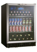 "DBC514BLS Danby Silhouette Ricotta 24"" Single Zone Beverage Center - Stainless Steel"