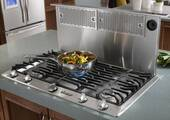 "ERV3615 Dacor Renaissance 36"" Epicure Raised Downdraft Vent System - Stainless Steel"