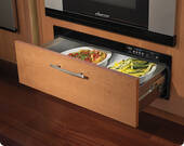 "IWD27 Dacor 27"" Renaissance Epicure Warming Drawer with 500 Watt Heating Element and Four Timer Settnigs - Custom Panel"