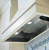 """BH140SLD-SS Vent-A-Hood 12"""" x 40 3/8"""" x 19 1/4"""" Standard Wall Mount Liner (300 CFM) - Stainless Steel"""