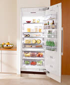 "K1813Vi Miele Energy Star 30"" Fully Integrated All Refrigerator Left Hinged - Custom Panel"