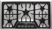 "SGSX365FS Thermador 36"" Masterpiece Deluxe Gas Cooktop with 5 Star Burners - Stainless Steel"